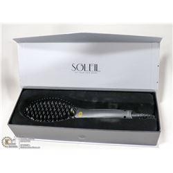 SOLIEL 2.0 HEAT BRUSH; BLACK
