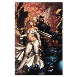 "Marvel Comics ""Uncanny X-Men #494"" Numbered Limited Edition Giclee on Canvas by David Finch with COA"