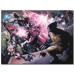 "Marvel Comics ""Avengers: The Children's Crusade #2"" Numbered Limited Edition Giclee on Canvas by Jim"
