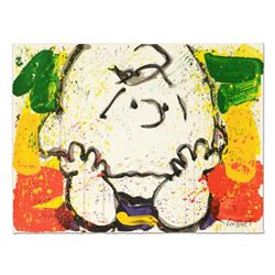 "Tom Everhart- Hand Pulled Original Lithograph ""Call Waiting"""