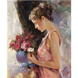 "Igor Semeko- Original Giclee on Canvas ""Blessings"""