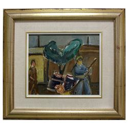 Aharon Giladi- Original Oil on Canvas