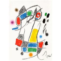 """Joan Miro- Lithograph """"Maravillas con variaciones acrosticas 01"""""""
