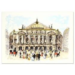 """Urbain Huchet, """"L'Opera"""" Limited Edition Lithograph, Numbered and Hand Signed."""