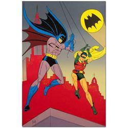 "Bob Kane (1915-1998), ""Batman & Robin"" Extremely Rare Limited Edition Original Color Lithograph, Num"