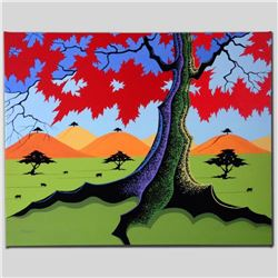 """""""The Hills Have Trees"""" Limited Edition Giclee on Canvas by Larissa Holt, Numbered and Signed. This p"""