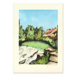 """Laurant, """"St. Tropez"""" Limited Edition Lithograph, Numbered and Hand Signed."""