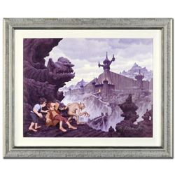 """""""City Of The Ringwraiths"""" Limited Edition Giclee on Canvas by The Brothers Hildebrandt, Numbered 227"""