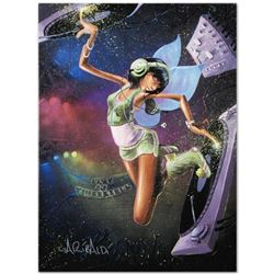 """""""Tinkerbell"""" Limited Edition Giclee on Canvas by David Garibaldi, CC Numbered from Miniature Series"""