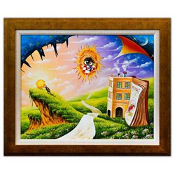 "Eugene Poliarush- Original Oil on Canvas ""The Eye of God"""