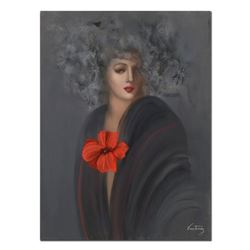 """Victoria Montesinos, Original Oil Painting on Gallery Wrapped Canvas (30"""" x 40""""), Hand Signed with L"""