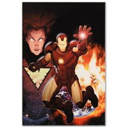 """Marvel Comics """"Iron Age: Alpha #1"""" Numbered Limited Edition Giclee on Canvas by Ariel Olivetti with"""