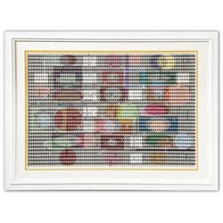 """Yaacov Agam- Original Screenprint in colors on Arches paper """"Double Metamorphosis I"""""""
