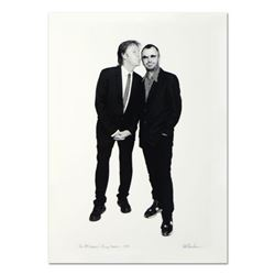 "Rob Shanahan, ""Paul McCartney & Ringo Starr"" Hand Signed Limited Edition Giclee with Certificate of"