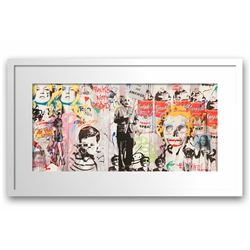 "Mr. Brainwash- Original Offset Lithograph on Paper ""Love is the Answer"""