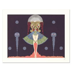 "Erte (1892-1990), ""Salome"" Limited Edition Serigraph, Numbered and Hand Signed with Certificate of A"