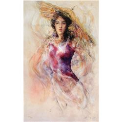 "Gary Benfield ""Aine"" Giclee on Canvas"