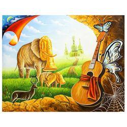 "Eugene Poliarush- Original Oil on Canvas ""Nature"""