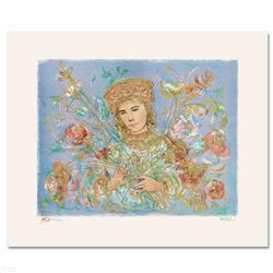 """""""Cheryl"""" Limited Edition Lithograph by Edna Hibel (1917-2014), Numbered and Hand Signed with Certifi"""