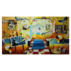 "Alexander Astahov- Original Oil on Canvas ""Summer Days"""