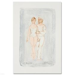 """""""Prelude"""" Limited Edition Lithograph by Edna Hibel (1917-2014), Numbered and Hand Signed with Certif"""