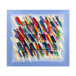 """Calman Shemi, """"Jazz Notes"""" Limited Edition Serigraph, Numbered and Hand Signed with Letter of Authen"""
