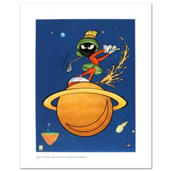 """""""Marvin Martian Golf"""" Limited Edition Giclee from Warner Bros., Numbered with Hologram Seal and Cert"""