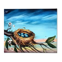 """Life Begins"" Limited Edition Giclee on Canvas by Martin Katon, Numbered and Hand Signed. This piece"