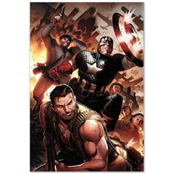 """Marvel Comics """"Secret Warriors #17"""" Numbered Limited Edition Giclee on Canvas by Jim Cheung with COA"""