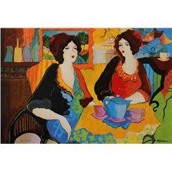 "Patricia Govezensky- Original Serigraph on Paper ""Silence Beach"""