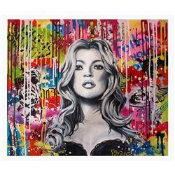 "Nastya Rovenskaya- Original Acrylic On Canvas ""LIFE IS BEAUTIFUL"""