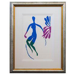 "Henri Matisse- Lithograph ""Verve - Nu bleu III"""