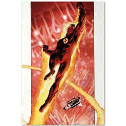 """Marvel Comics """"Ultimate Fantastic Four #16"""" Numbered Limited Edition Giclee on Canvas by Kaare Andre"""