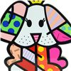 """Image 2 : Romero Britto""""Royalty II"""" Hand Signed Limited Edition Sculpture; Authenticated."""