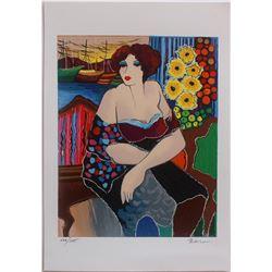 "Patricia Govezensky- Original Serigraph on Paper ""Mary"""