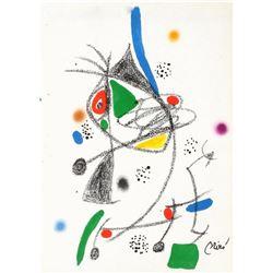 """Joan Miro- Lithograph """"Maravillas con variaciones acrosticas 04"""""""