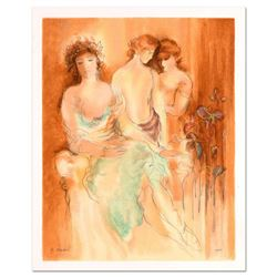 """Batia Magal, """"Aristocrats"""" Limited Edition Serigraph, Numbered and Hand Signed with Certificate of A"""