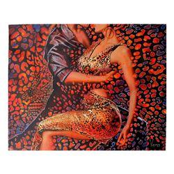 "Vera V. Goncharenko- Original Oil on Canvas ""Wild Tango"""