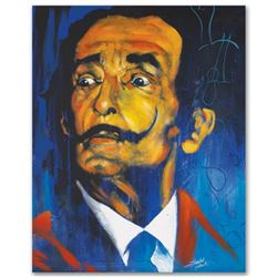 """Dali"" Limited Edition Giclee on Canvas by Stephen Fishwick, Numbered and Signed. This piece comes G"