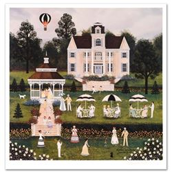 "Jane Wooster Scott, ""Southern Serendipity"" Hand Signed Limited Edition Lithograph with Letter of Aut"