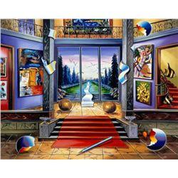 "Alexander Astahov- Original Giclee on Canvas ""Red Carpet"""