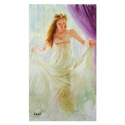 """Vidan, """"Sheer Innocence"""" Limited Edition on Canvas, Numbered and Hand Signed with Certificate."""