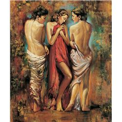 "Igor Semeko- Original Giclee on Canvas ""Heaven"""