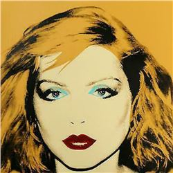 "Andy Warhol- Screenprint in colors ""Debbie Harry Yellow 1980"""