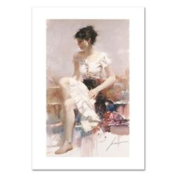 "Pino (1939-2010) ""White Lace"" Limited Edition Giclee. Numbered and Hand Signed; Certificate of Authe"