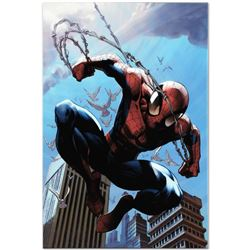 "Marvel Comics ""Ultimate Spider-Man #156"" Numbered Limited Edition Giclee on Canvas by Mark Bagley wi"