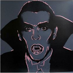 "Andy Warhol- Screenprint in colors ""Dracula, 1981"""