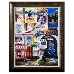 """Alexander Borewko- Giclee on Canvas """"A Quiet Street"""""""