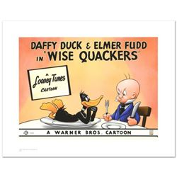 """""""Wise Quackers"""" Limited Edition Giclee from Warner Bros., Numbered with Hologram Seal and Certificat"""