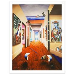 """""""Theresa and 3 Candles"""" Limited Edition Giclee on Canvas (30"""" x 40"""") by Ferjo, Numbered and Hand Sig"""